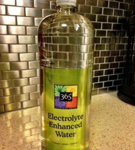 Bottle of 365 Everyday Value Electrolyte Enhanced Water