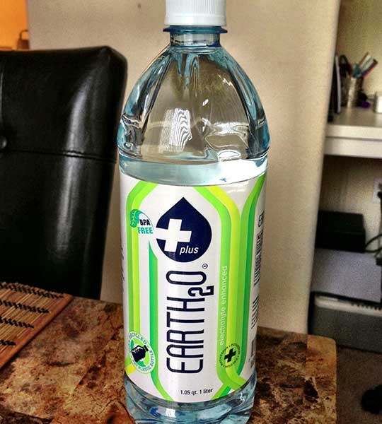 Earth2o Electrolyte Enhanced Spring Water Bottled Waters