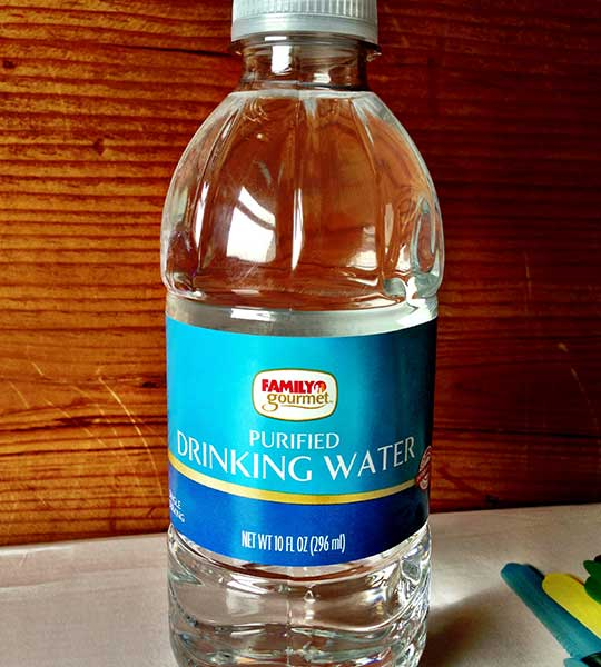 Family Gourmet Purified Drinking Water Bottled Waters